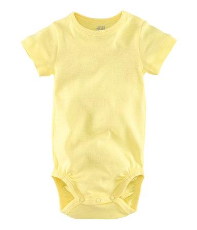 H&M's organic bargain baby wear
