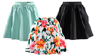 The £2.99 wear anywhere skirt