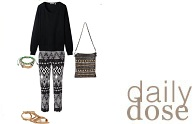 Daily dose: comfy casual