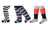Cosy toes: tights for girls AND boys