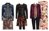Ways to wear: Winter florals