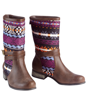 Joe Browns - Patterned boots -lf276