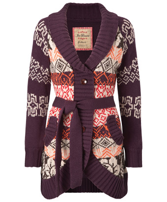 Joe Browns - Patterned cardigan -lk277