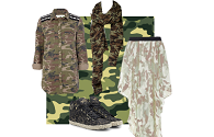 Ways to wear: camouflage