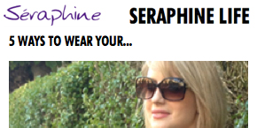 as seen in - seraphine 5 ways lbd
