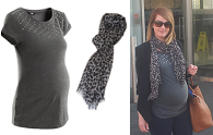 Real mama style: Kate's maternity look