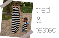 Tried & tested | Etsi dresses for mama and mini-me