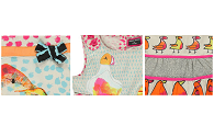 Bright, bird print beauties