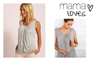Mama loves | Vertbaudet's flattering breastfeeding tops