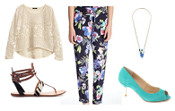 How to wear | printed trousers