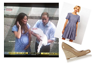 What Kate wore | The going home outfit