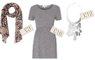 Top to toe maternity style under £50