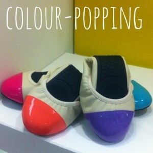 Colour block pumps | foldable flats | Butterfly Twists | cocomamastyle