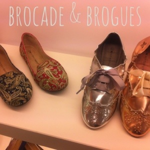 brocafe brogue | foldable flats | Butterfly Twists | cocomamastyle