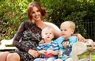 Danielle Lloyd maternity dress Lipstick boutique cocomamastyle