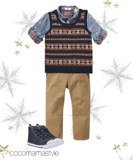 F&F christmas party wear boys  - Cocomamastyle