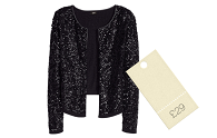 Quick fix under £50 | H&M sequin cardigan