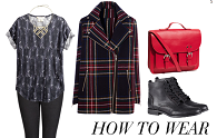 how to wear checks cocomamastyle