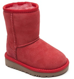8 UGG Classic Low Boot Red