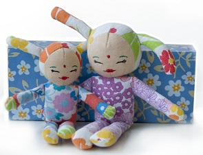 9 Kidsonroof Popje Rabbit Doll from Little Fashion Gallery