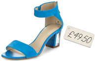 Quick fix under £50 | M&S block-heel sandals