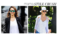 Mama style crush: Jessica Alba