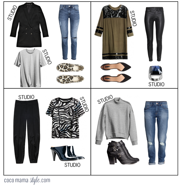 H&M studio outfits to wear now | cocomamastyle