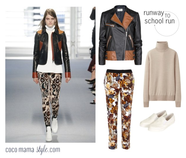 Runway to school run | louis vuitton