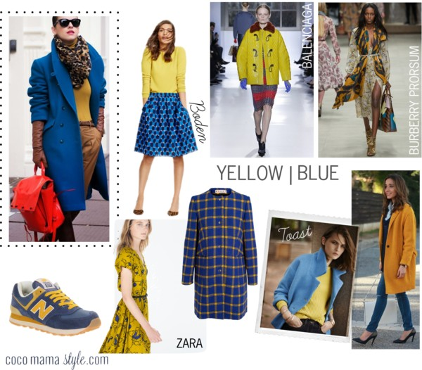 Wear it now | Yellow and blue