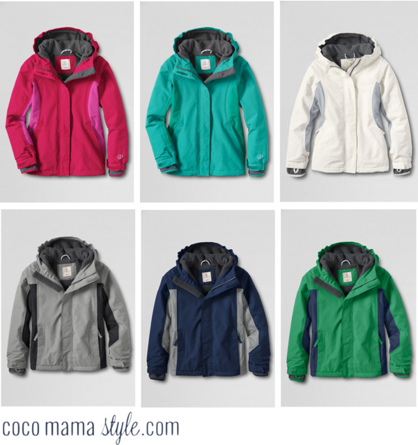 Must-have children's coats from Lands' End