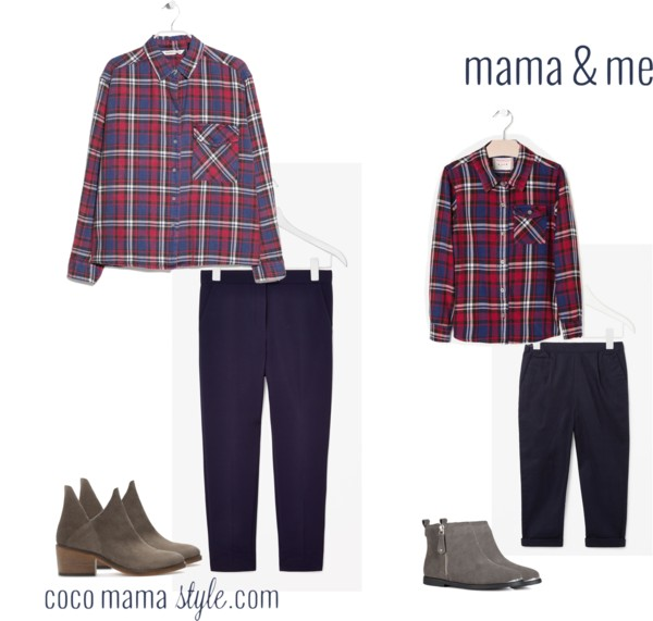 Mama & me | winter checks