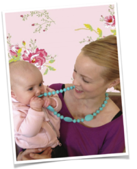 mama and belle teething necklaces