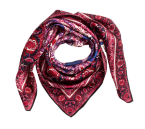mm&mg red scarf