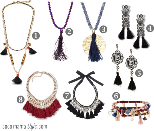 Wear it now | Tassel jewellery