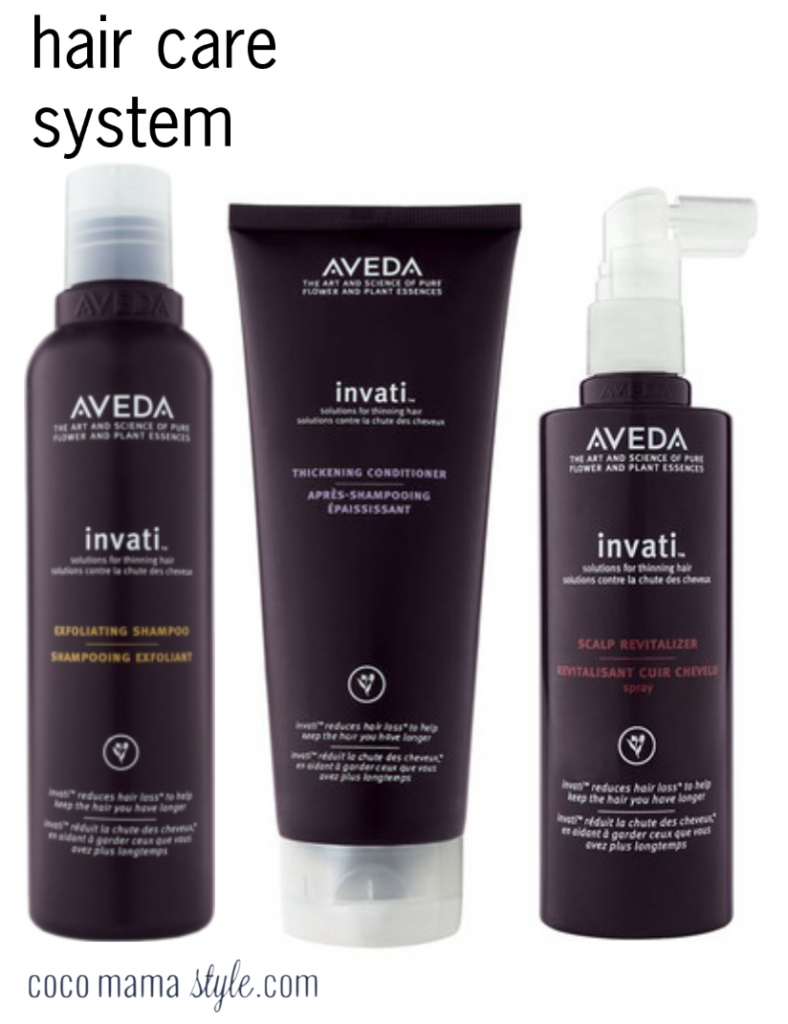 aveda invati haircare system cocomamastyle