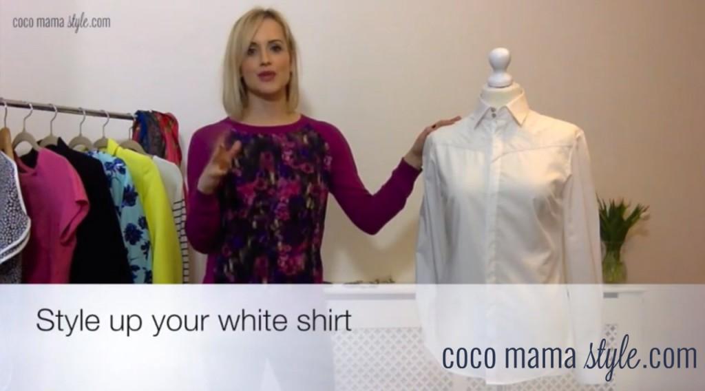 youtube vlog | wardrobe classic | white shirt style tips | cocomamastyle