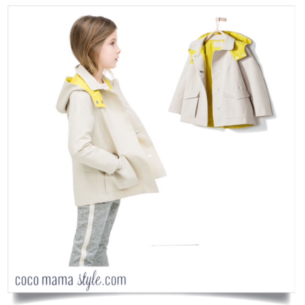 Kids' quick fix under £40 | Zara raincoat