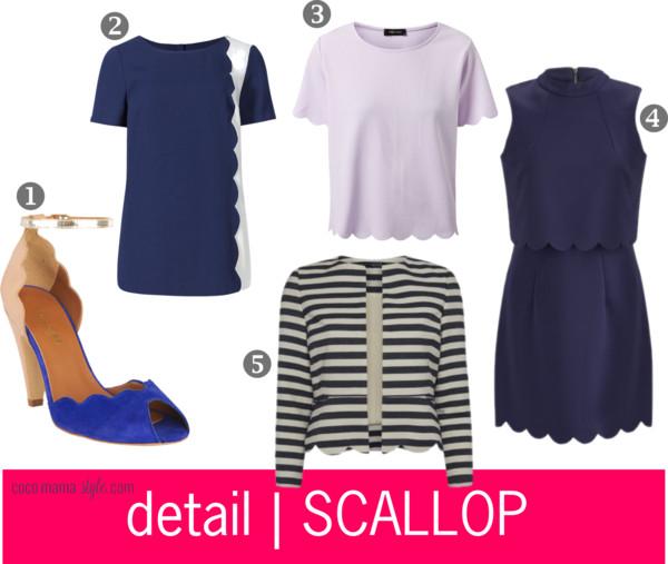 scallop hem | scallop edge | cocomamastyle