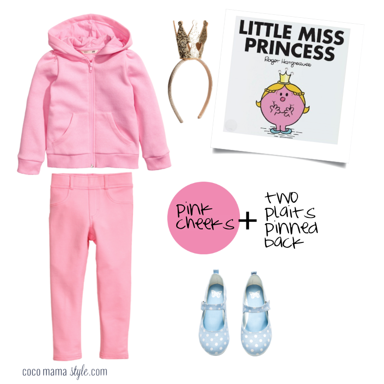 Little Miss Princess | costume dressing up | world book day | cocomamastyle