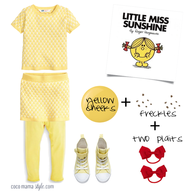 Little Miss Sunshine | costume dressing up | world book day | cocomamastyle