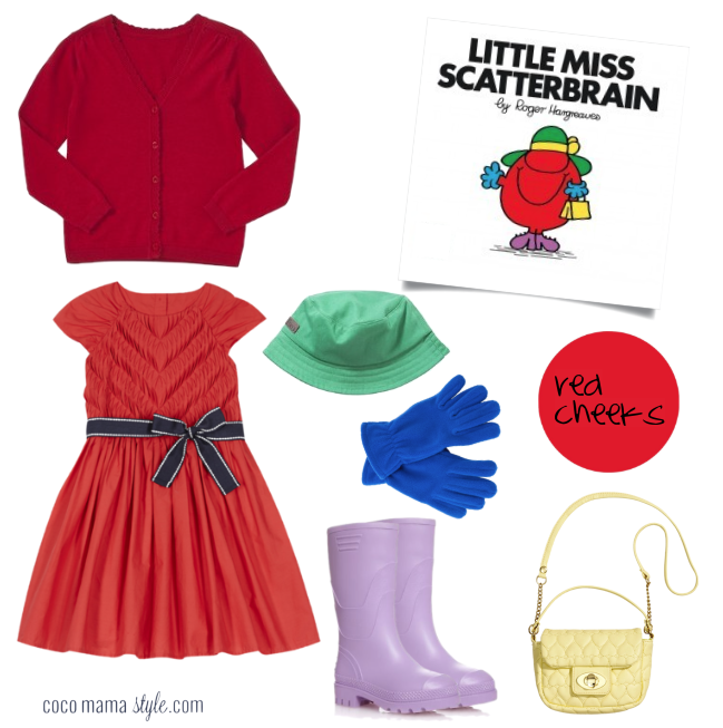 Little Miss Scatterbrain | costume dressing up | world book day | cocomamastyle