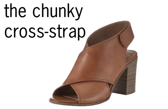 TESCO chunky cross strap