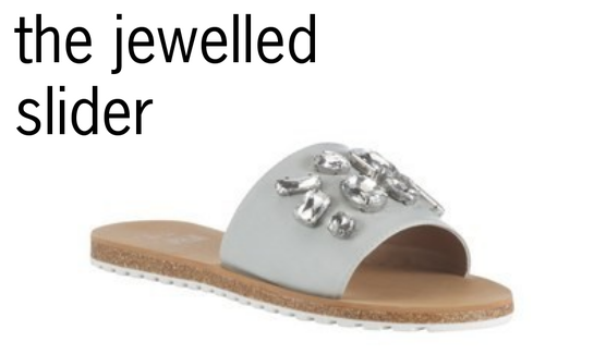 TESCO jewelled slider