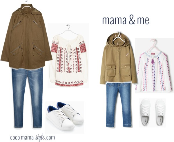 mama and me boho blouse