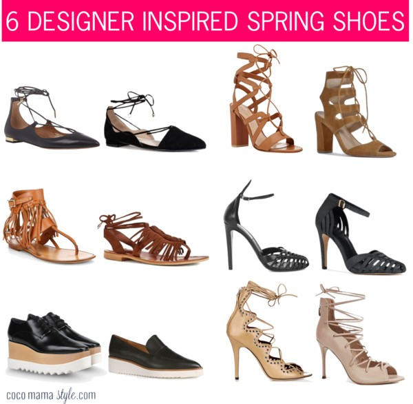6 designer inspired spring shoes cocomamastyle