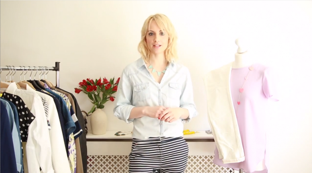 VIDEO | Body shape style tips | White jeans
