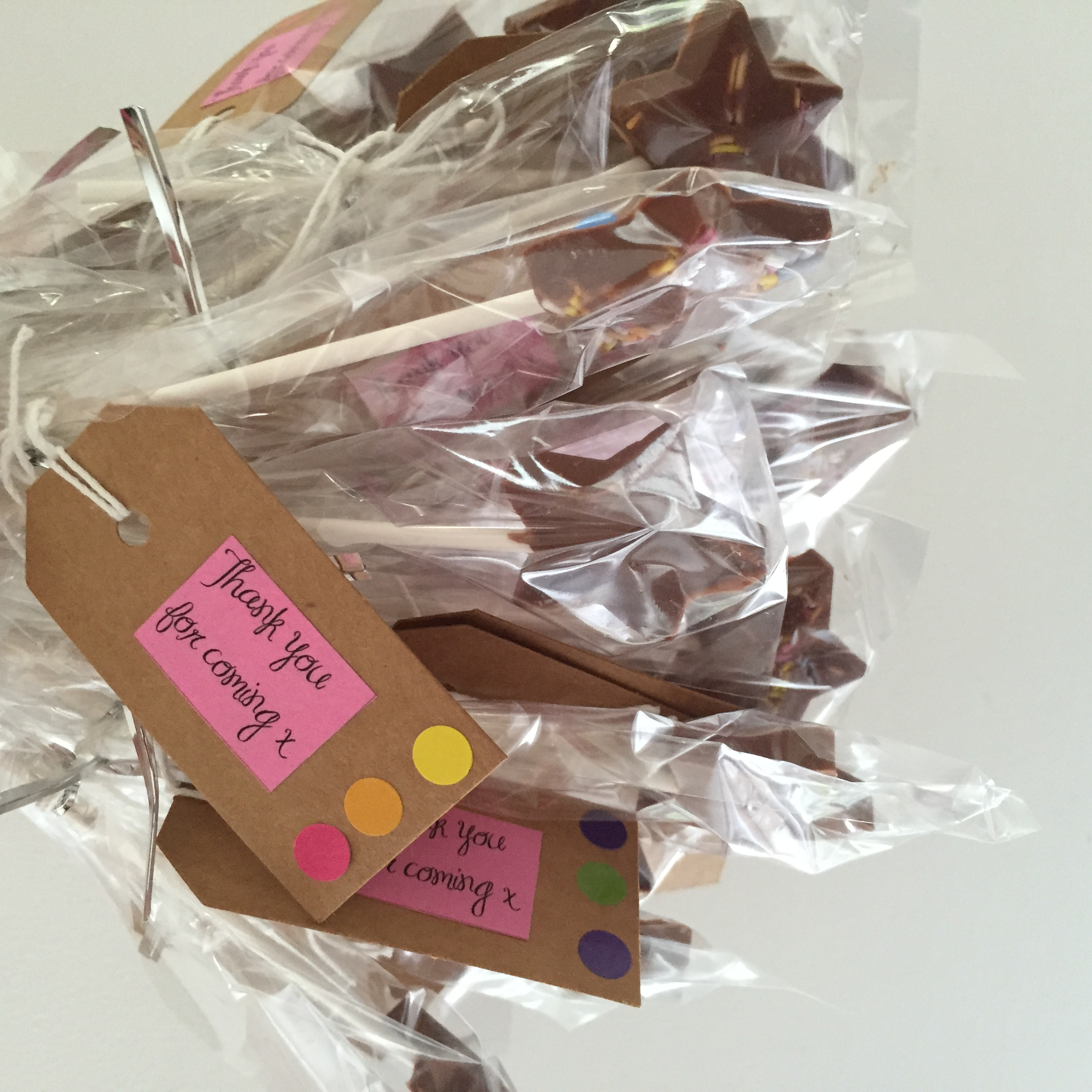 cocomamastyle prty chocolate lollies