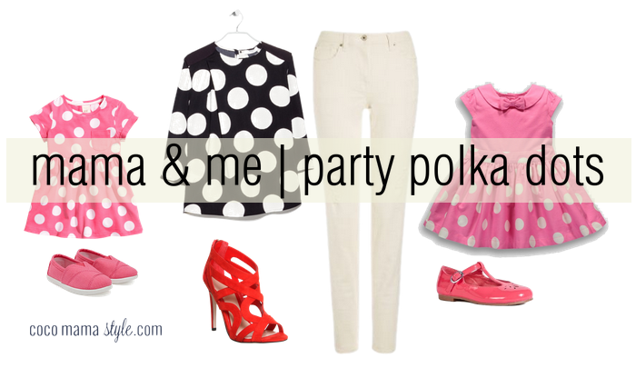 cocomamastyle - mama and me - party polka dots