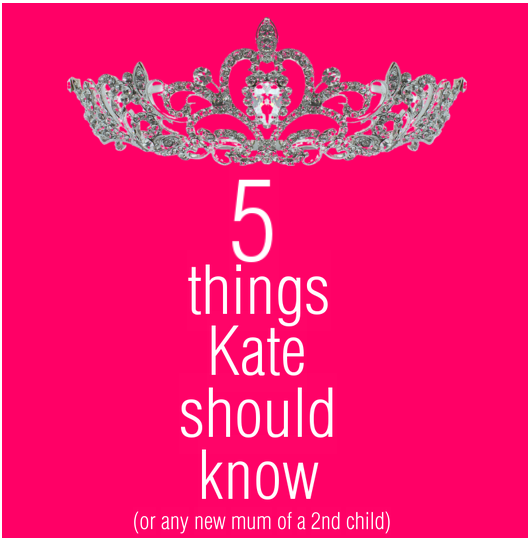 5 things Kate should know