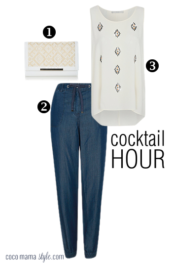 holiday style | capsule wardrobe |George ss15 cocktail hour look